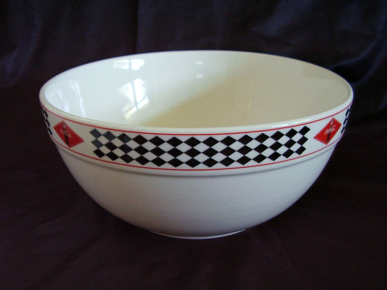 '.Gibson Coca Cola Mixing Bowl.'