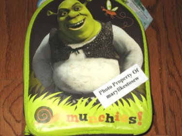 Shrek insulated lunch bag Burping sound New With Tag teacher class gift