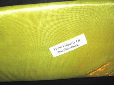 Elegant gold foil Holiday new Fabric 2 yd piece