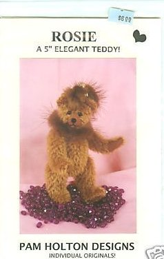 Pattern for Rosie a 5 jointed mohair teddy bear for you to make