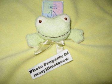 Frog Nunu Baby Lovey Security Blanket Blankets & Beyond