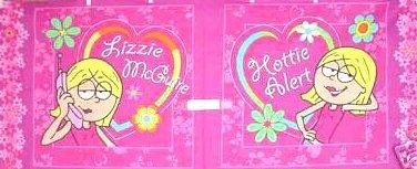 Lizzie McGuire cotton two pieces pillow panel