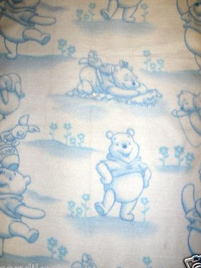 Winnie The Pooh Hunny Jar Piglet Baby Blanket Handmade