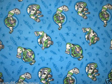 Buzz Lightyear baby blanket or for toddler Handmade with licensed fleece