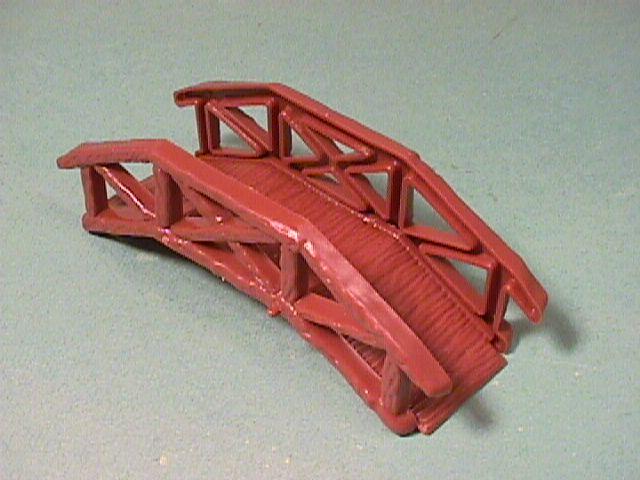 Plastic Wooden Footbridge