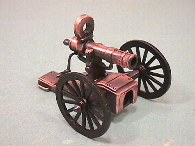 Diecast Army Gatling Gun
