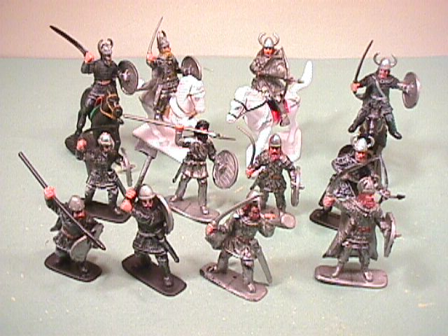 Medieval Crusaders Plastic Knights Set No. 28
