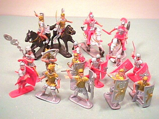 Ancient Roman Plastic Warriors Set #22