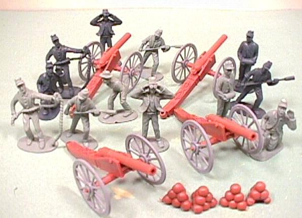 American Civil War BMC 50 Pc Figures Set