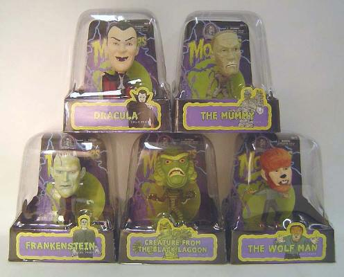 Thumbnail of Universal Monsters Solar Bobbleheads Set of Four