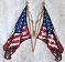 Thumbnail of United States flag towel  American Flag patriotic
