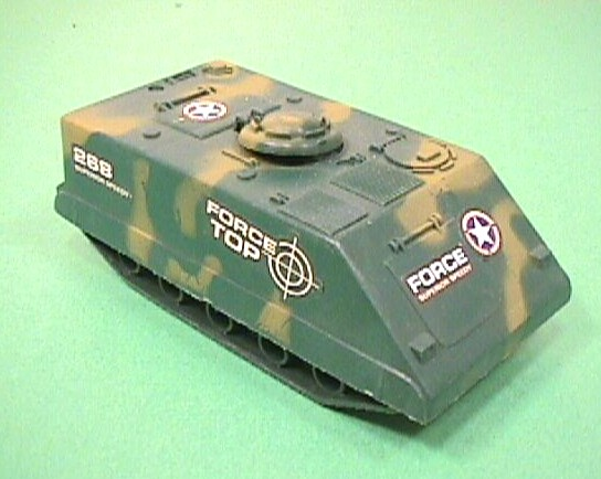 Army Camo Plastic Armored Personnel Carrier