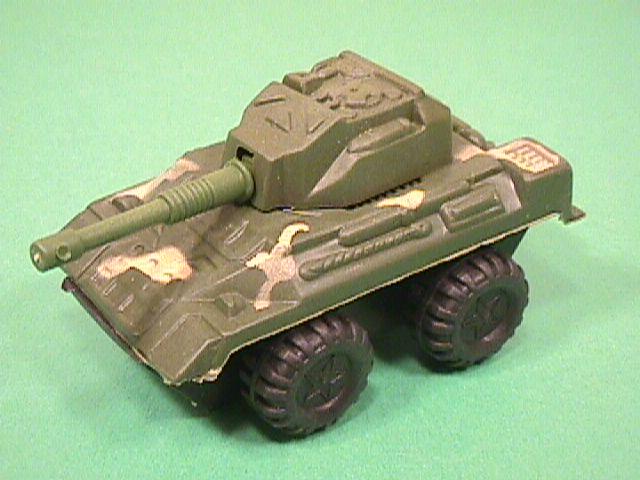 Green Camo Plastic Armored Car