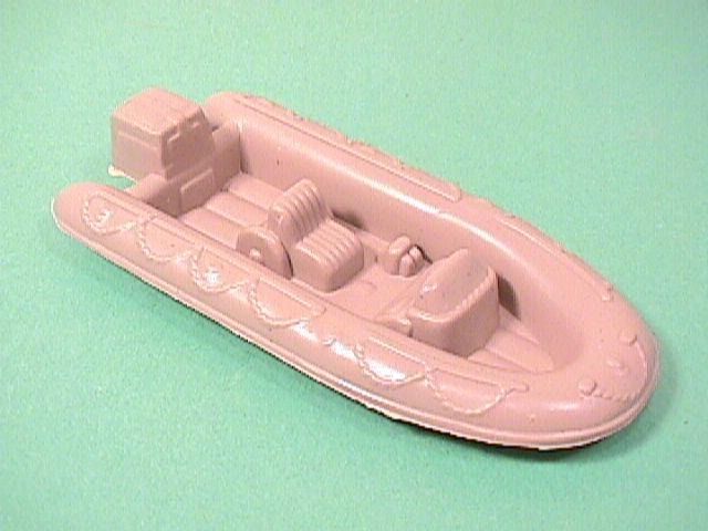 Desert Tan Plastic Combat Zodiac Style Raft