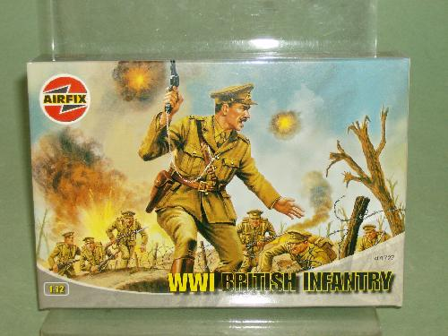 Airfix 1/72nd Scale WWI British Infantry Plastic Soldiers Set