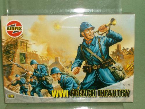 Airfix 1/72nd Scale WWI German Infantry Plastic Soldiers Set