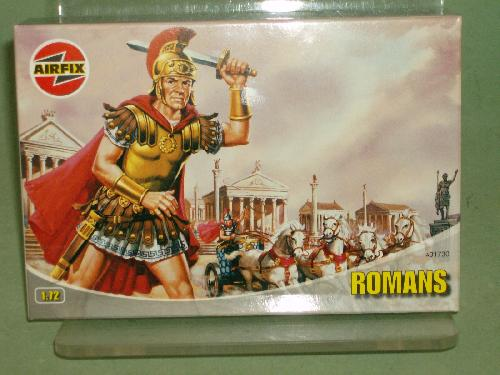 Airfix 1/72nd Scale Ancient Roman Plastic Figures Set