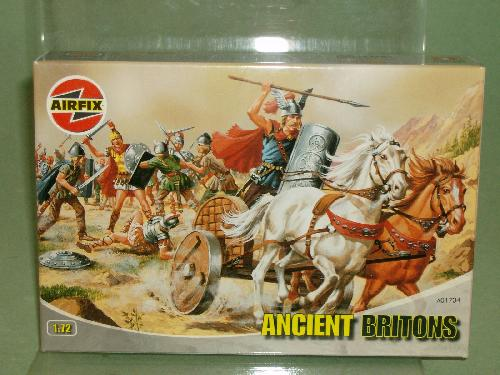 Airfix 1/72nd Scale Ancient Britons Plastic Figures Set