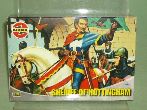 Airfix 1/72nd Medieval Sheriff Of Nottingham Plastic Figures Set