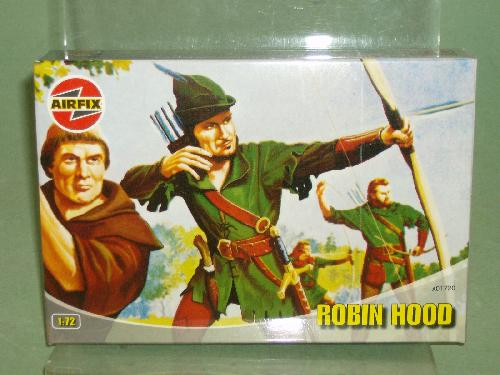 Airfix 1/72nd Scale Medieval Robin Hood Plastic Figures Set