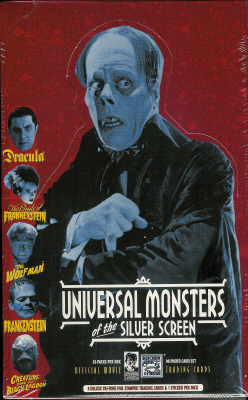 Thumbnail of Universal Monsters of the Silver Screen movie trading cards