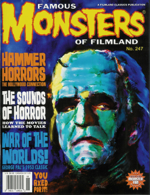 Thumbnail of Famous Monsters of Filmland magazine FM 247 NEW UNCIRCULATED