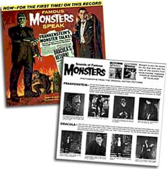 Thumbnail of Famous Monsters Speak CD - Hard to find!