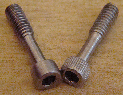 HEX HEAD TAKEDOWN BOLT-STAINLESS-BOLT ONLY