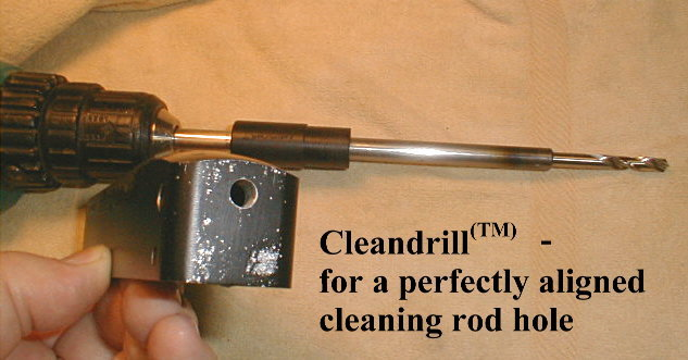Gunsmither CleanDrill Tool - For drilling the perfect 10/22 cleaning port!