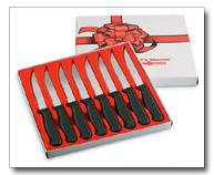 CTCS8- Chef's Secret- 8pc Steak knife Set