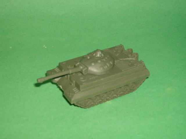 Modern Green Plastic Army Tank