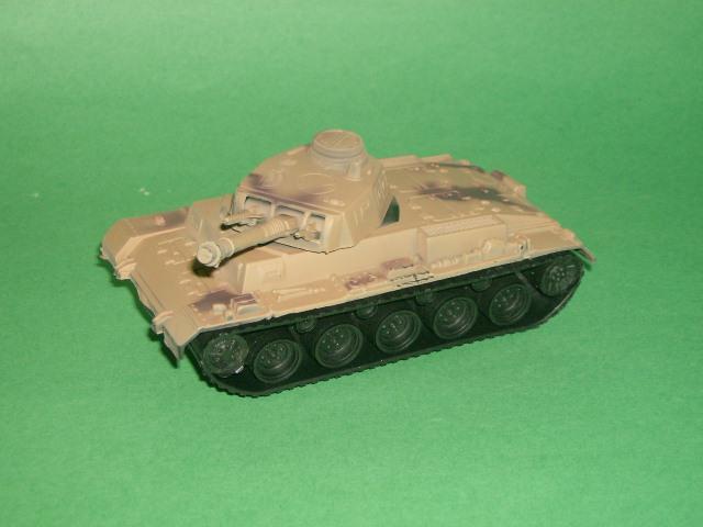 German Style Brown Plastic Army Tank