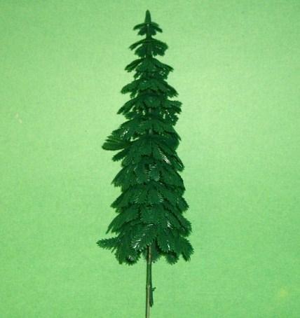 Larger Plastic Pine Tree