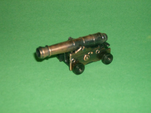 Diecast Naval Cannon