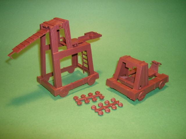 MPC Recast Medieval Plastic Catapult