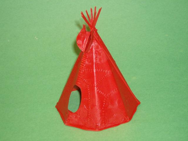 BMC Western Plastic 7th Cavalry & Indians Figures Set