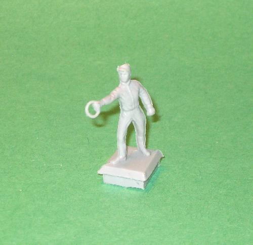 Marx Recast ACW Plastic Mansion Lawn Figure Statue