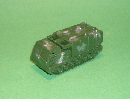 HO Scale Modern Tracked Multiple Missile Launcher Vehicle