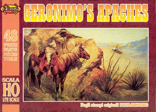 Nexus 1/72nd Scale Geronimo's Apaches Plastic Figures Set