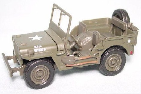 New Ray 1/32nd Scale Diecast Metal U.S. Willys Jeep