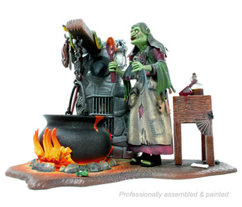 Polar Lights The WITCH model kit - Hard to Find!