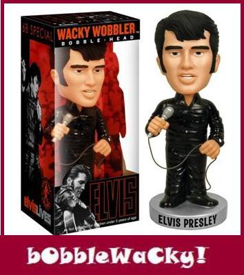 Thumbnail of Funko Elvis Presley 68 Special Wacky Wobblers bobble head