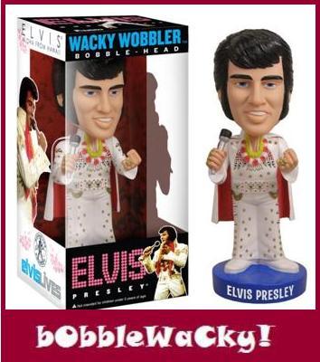 Thumbnail of Funko Elvis Presley Aloha from Hawaii Wacky Wobblers bobble head