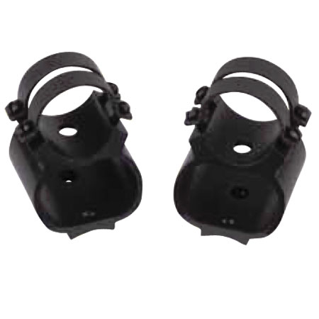 WEAVER SEE-THRU RINGS FOR RUGER 10/22 matte BLACK-receiver mount