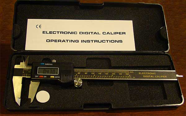 Thumbnail of Electronic Digital Caliper - helps score targets and measure part mods