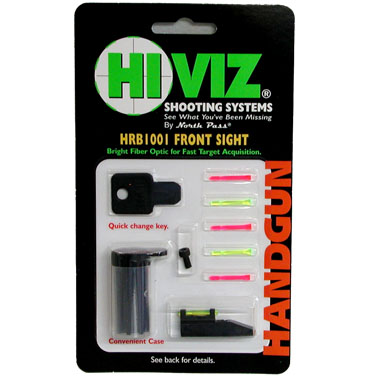 HIVIZ 10/22 fiber optic sights - Front sight for 10/22s
