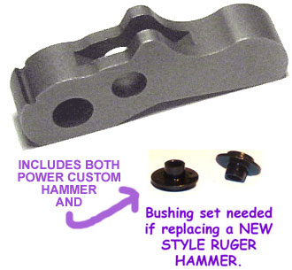 a) POWER CUSTOM COMPETITION HAMMER & Bushings!