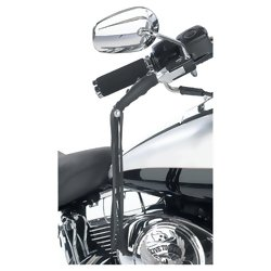 GFLEVER      Diamond Plate- Black Motorcycle Lever Covers
