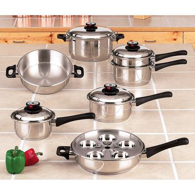 KT17 - Maxam® 9-Element Cookware