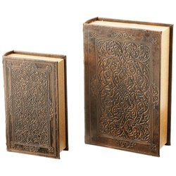 GFBOOK2 2pc Faux Book Safe Set